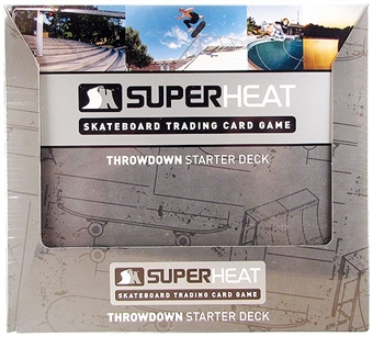 Super Heat Throwdown Skateboard Trading Card Starter Box