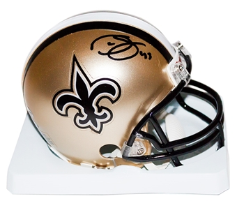 Darren Sproles Autographed New Orleans Saints Mini Helmet (Leaf Authentics)