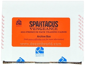 Spartacus Vengeance Premium Pack Archives Box (2013 Rittenhouse)
