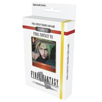 Final Fantasy TCG: VII Fire and Earth Starter 6-Deck Box