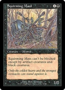 Magic the Gathering Urza's Destiny Single Squirming Mass Foil