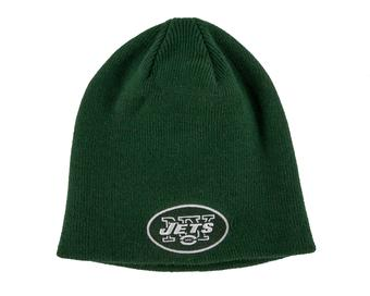New York Jets '47 Brand Green Cuffless Knit Beanie Winter Hat (Adult One Size)