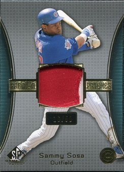 2004 SP Game Used Patch Premium #SS Sammy Sosa 16/50