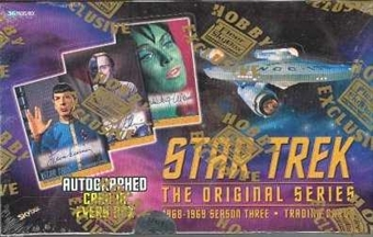 Star Trek: The Original Series Season 3 Hobby Box (1999 Skybox)