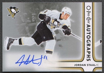 2006/07 O-Pee-Chee Autographs #AJS Jordan Staal OPC