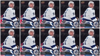 2015 Upper Deck All-Star Game Steven Stamkos 5 X 7 Card Tampa Bay Lightning (Lot of 10)