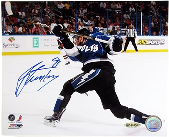 Steven Stamkos Autographed Tampa Bay Lightning 8x10 Hockey Photo (UDA)