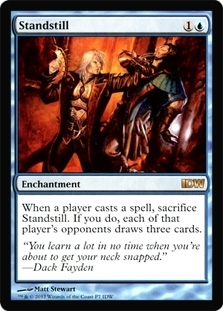 Magic the Gathering Promo Single Standstill - IDW