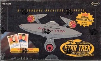 Star Trek Animated Adventures Trading Cards Box (Rittenhouse)