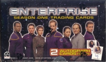 Star Trek Enterprise Season 1 Trading Cards Box (Rittenhouse 2002)