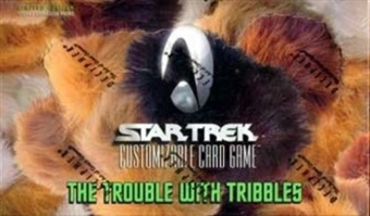 Decipher Star Trek Trouble with Tribbles Booster Box