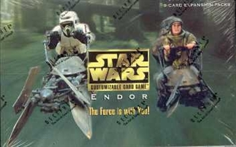 Decipher Star Wars Endor Booster Box