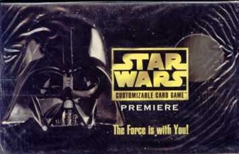 Decipher Star Wars Premiere Limited Edition Booster Box
