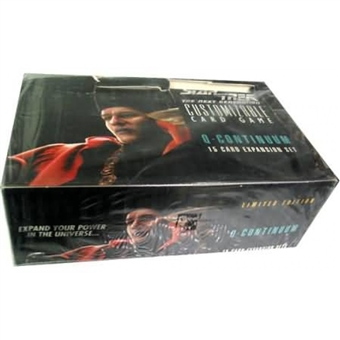 Decipher Star Trek Q Continuum Booster Box