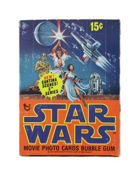 Star Wars 5th Series Wax Box (1977-78 Topps)