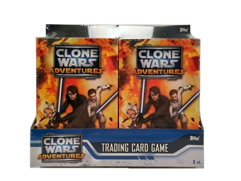 Topps Star Wars TCG Clone Wars Adventures Starter Box