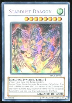 Yu-Gi-Oh Duelist Genesis Single Stardust Dragon Ghost Rare