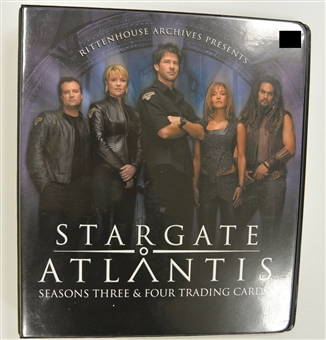 Stargate Atlantis Seasons Three & Four Trading Cards Album/Binder