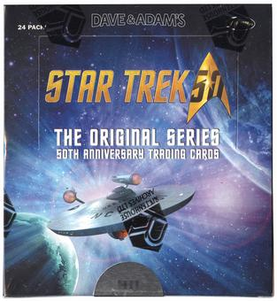 Star Trek The Original Series 50th Anniversary Trading Cards Box (Rittenhouse 2016)