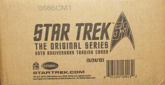 Star Trek The Original Series 50th Anniversary Trading Cards 12-Box Case (Rittenhouse 2016)