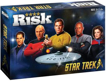 RISK: Star Trek 50th Anniversary Edition (USAopoly)