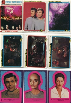 Star Trek The Motion Picture 1979 Topps 88 Card Set