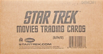 Star Trek Movies Trading Cards 12-Box Case (Rittenhouse 2013)