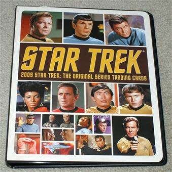 2009 Star Trek: The Original Series Trading Cards Album/Binder
