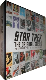 Star Trek The Original Series Portfolio Prints Trading Cards Album/Binder