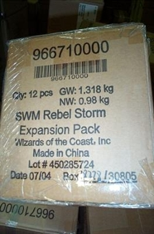 WOTC Star Wars Miniatures Rebel Storm Booster Case (12 ct)