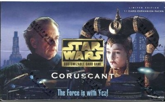 Decipher Star Wars Coruscant Booster Box