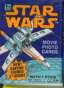 Star Wars 5th Series Wax Pack (1977-78 Topps)