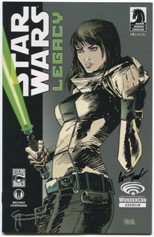 Star Wars Legacy #1 Wondercon 2013 Exclusive Variant Cover Signed