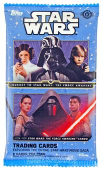 Star Wars: Journey to The Force Awakens Hobby Pack (Topps 2015)