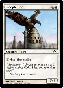 Magic the Gathering Dragon's Maze Single Steeple Roc Foil