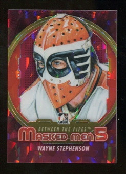 2012/13 In the Game Between The Pipes Masked Men V Rainbow #MM47 Wayne Stephenson