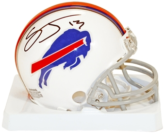 Stevie Johnson Autographed Buffalo Bills Fooball Mini-Helmet