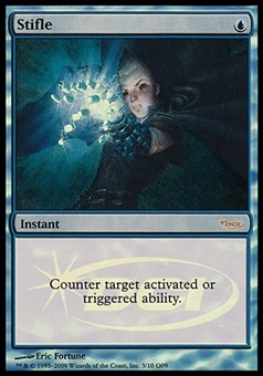 Magic the Gathering Judge Foil Promo Single Stifle - SLIGHT PLAY (SP)