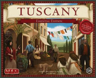 Viticulture: Tuscany Essential Edition (Stonemaier Games)