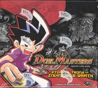 WOTC DuelMasters Stomp-a-Trons of Invincible Wrath Booster Box