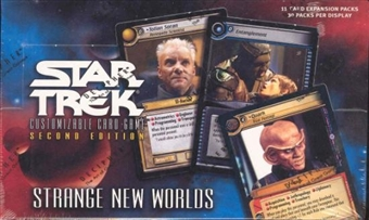 Decipher Star Trek Second Ed. Strange New Worlds Booster Box