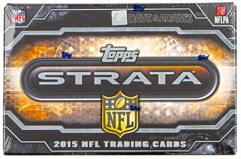 2015 Topps Strata Football Hobby 12-Box Case - DACW Live 30 Spot Random Team Break #3