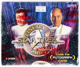 Star Trek Cinema 2000 Box (Fleer/Skybox)