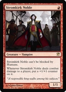 Magic the Gathering Innistrad Single Stromkirk Noble Foil