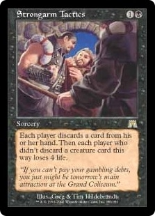 Magic the Gathering Onslaught Single Strongarm Tactics - NEAR MINT (NM)