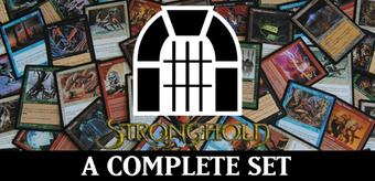 Magic the Gathering Stronghold A Complete Set NEAR MINT / SLIGHT PLAY (NM/SP)