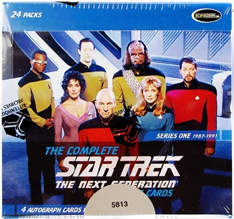 Star Trek The Next Generation Series 1 Trading Cards Box (Rittenhouse 2011)