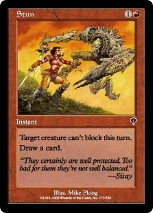 Magic the Gathering Invasion Single Stun Foil