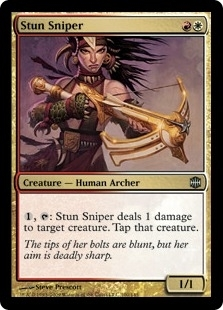 Magic the Gathering Alara Reborn Single Stun Sniper FOIL