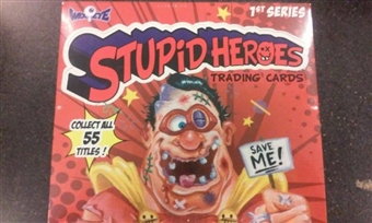 Stupid Heroes Series 1 Trading Cards Box (Wax Eye 2014)